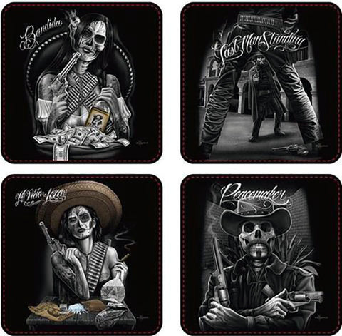 DGA Western Coasters Set of 4