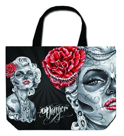 Danger Gypsy Woman Tote Bag