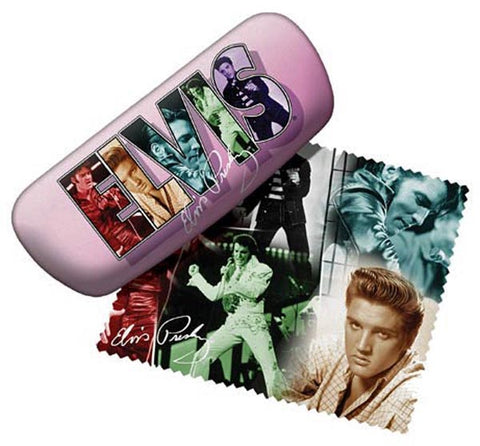 Elvis Collage Eyeglass Case