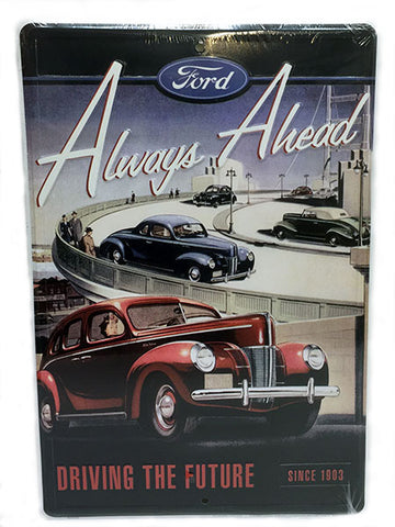 Ford Always Ahead Sign