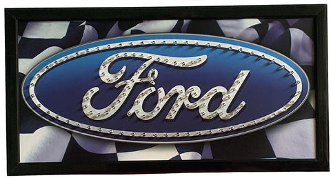 Ford Oval LED Sign