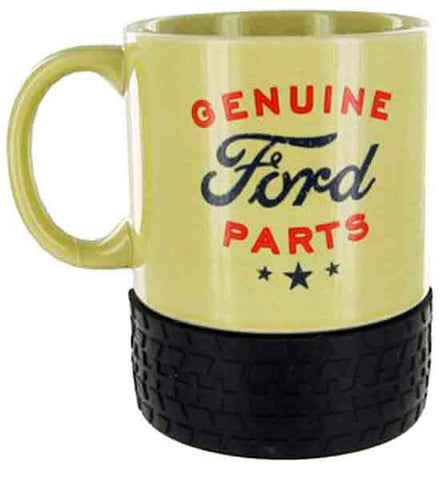 Ford Ceramic Mug with Tyre Base