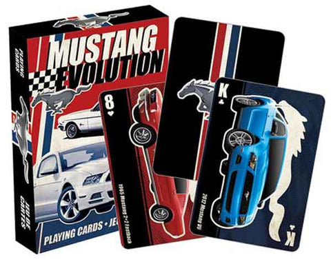 Ford Mustang Playing Cards.