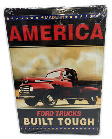 Ford Built Tough Sign