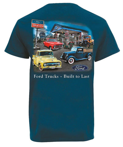 Ford Trucks Built to Last Tee Shirt