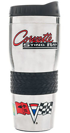 GM Corvette Stainless Travel Mug