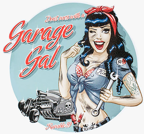 Garage Gal Decal
