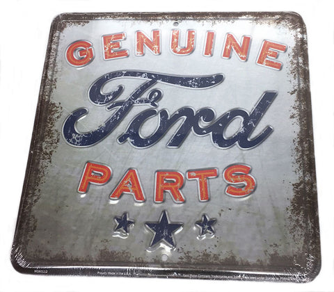 Genuine Ford Parts Sign