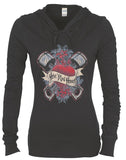 Hotrod Honey Ladies Hoodie