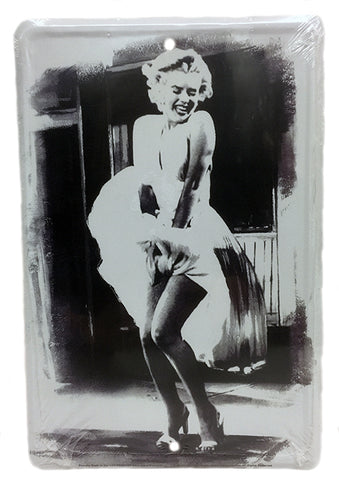 Marilyn Blown Dress Parking Sign
