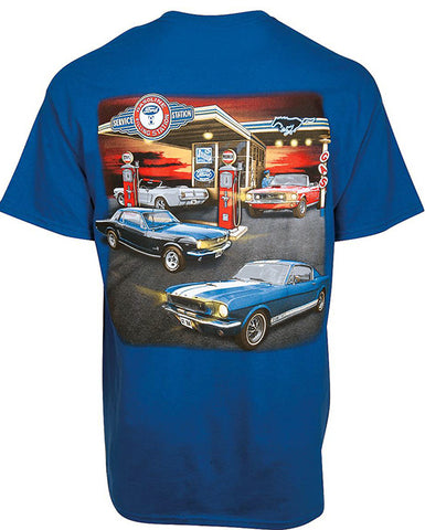 Mustang Gas Station Tee Shirt