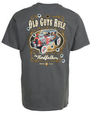 Old Guys Rule... The Rodfather Tee Shirt.