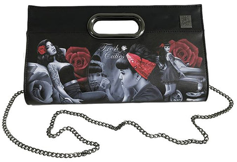 Pin Up Clutch Purse