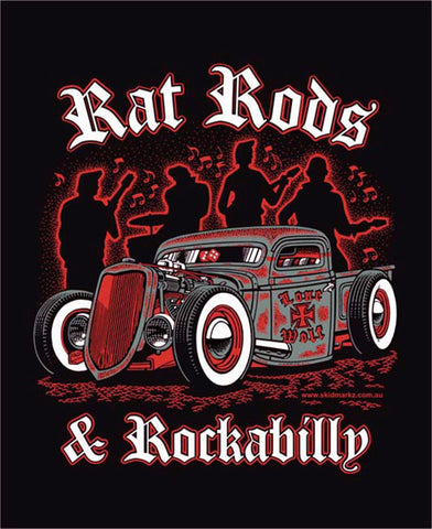 Rat Rod & Rockabilly Tee Shirt