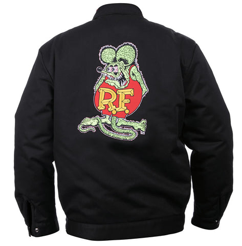 Rat Fink Embroidered Icon Jacket