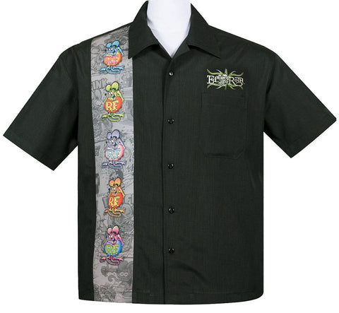 Rat Fink Five Fink Panel Shirt