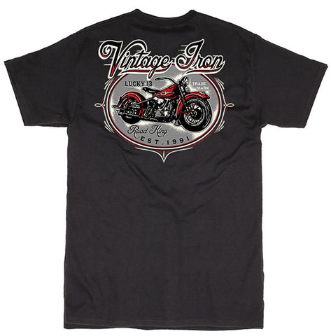 Lucky 13 Road King Tee Shirt