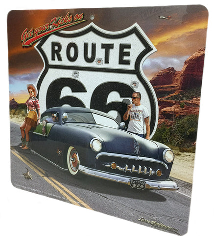 Route 66 Sinners Sign