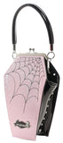 Purse Sparkle Coffin Black & Pink