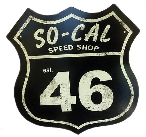 So Cal Speed Shop Shield Sign