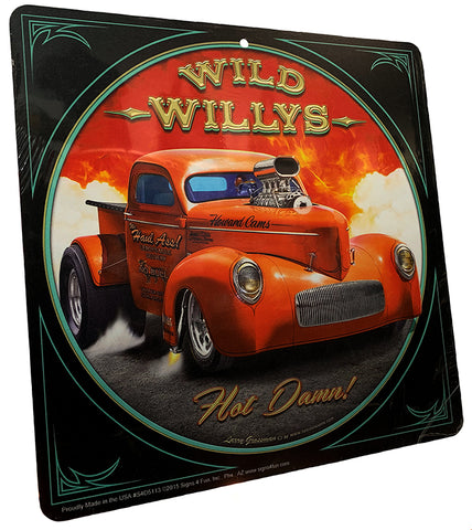 Wild Willys Sign
