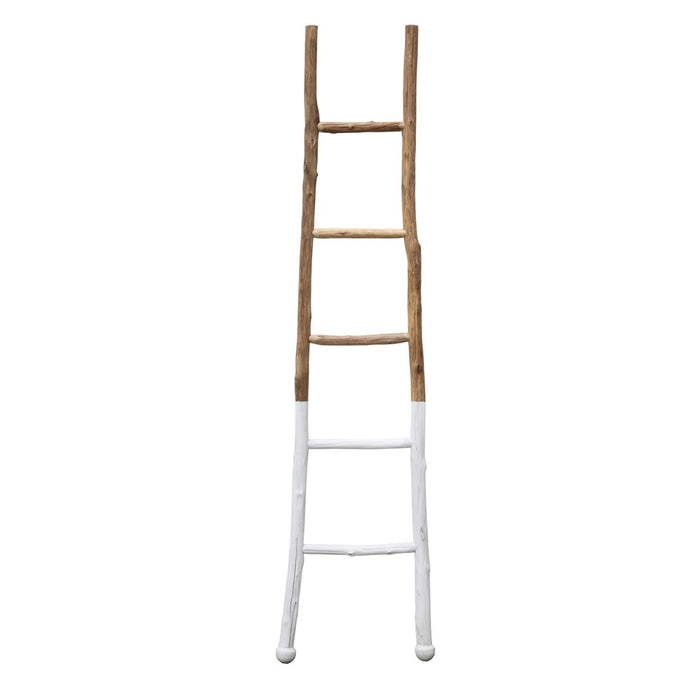 White Dipped Ladder