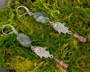 Kaiya Earrings - The Green Gryphon