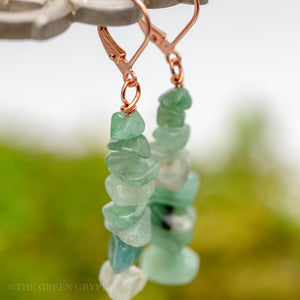 Embla Earrings - The Green Gryphon