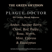 Load image into Gallery viewer, Plague Doctor Essential Oil Blend - Unisex