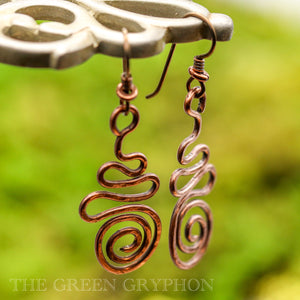Atma Earrings - The Green Gryphon
