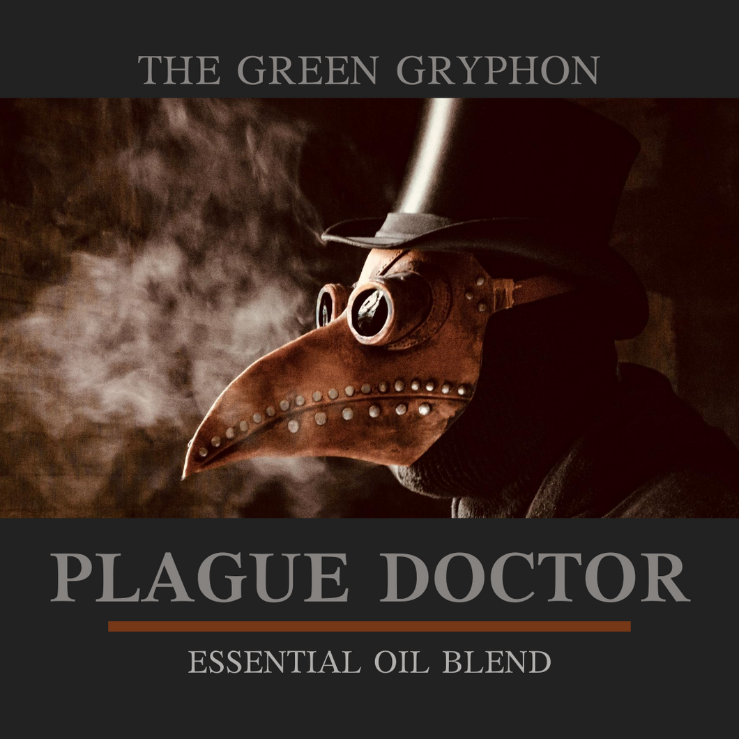 Plague Doctor Essential Oil Blend - Unisex