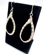 Load image into Gallery viewer, Lacrima Argento Earrings