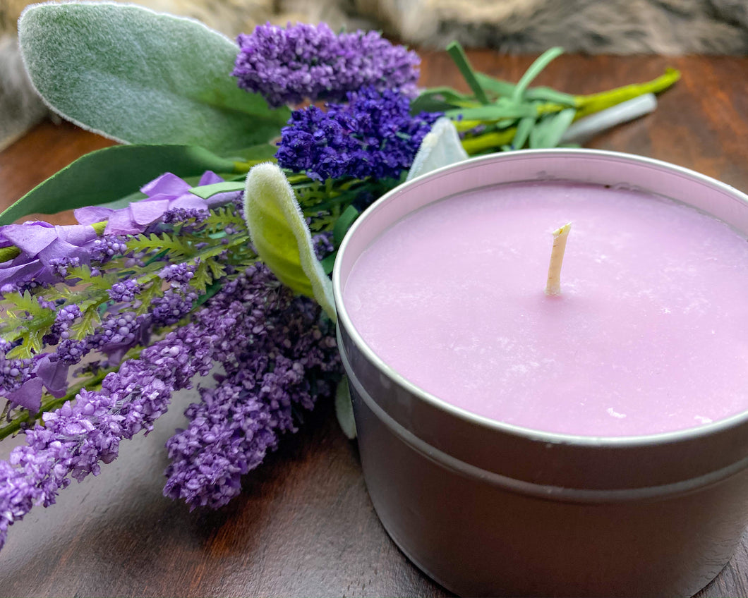 White Sage and Lavender Candle
