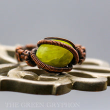 Load image into Gallery viewer, Senja Ring - The Green Gryphon