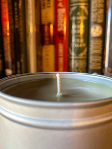 The Study Candle - The Green Gryphon