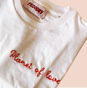 Planet of love -a unisex tee