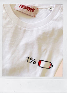 Low battery - a UNISEX tee