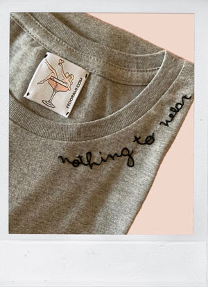 Nothing to wear - THE GREY TEE