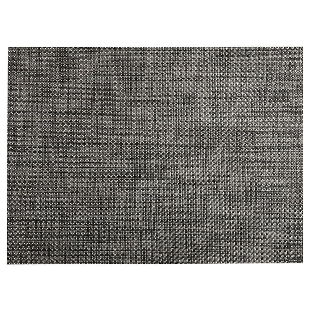MANTELETA BASKETWEAVE 14X19 CARBON