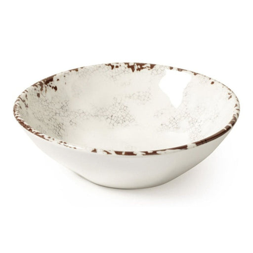 BOWL IRREGULAR MELAMINA BLANCO 16 OZ