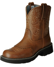 Load image into Gallery viewer, Ariat 10000860 Women's Fatbaby Saddle Western Boot