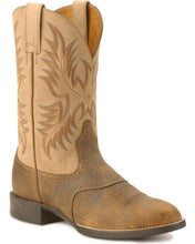 Load image into Gallery viewer, Ariat 10002247 Men's Heritage Stockman Tan/Brown