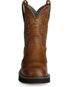 Ariat 10000860 Women's Fatbaby Saddle Western Boot