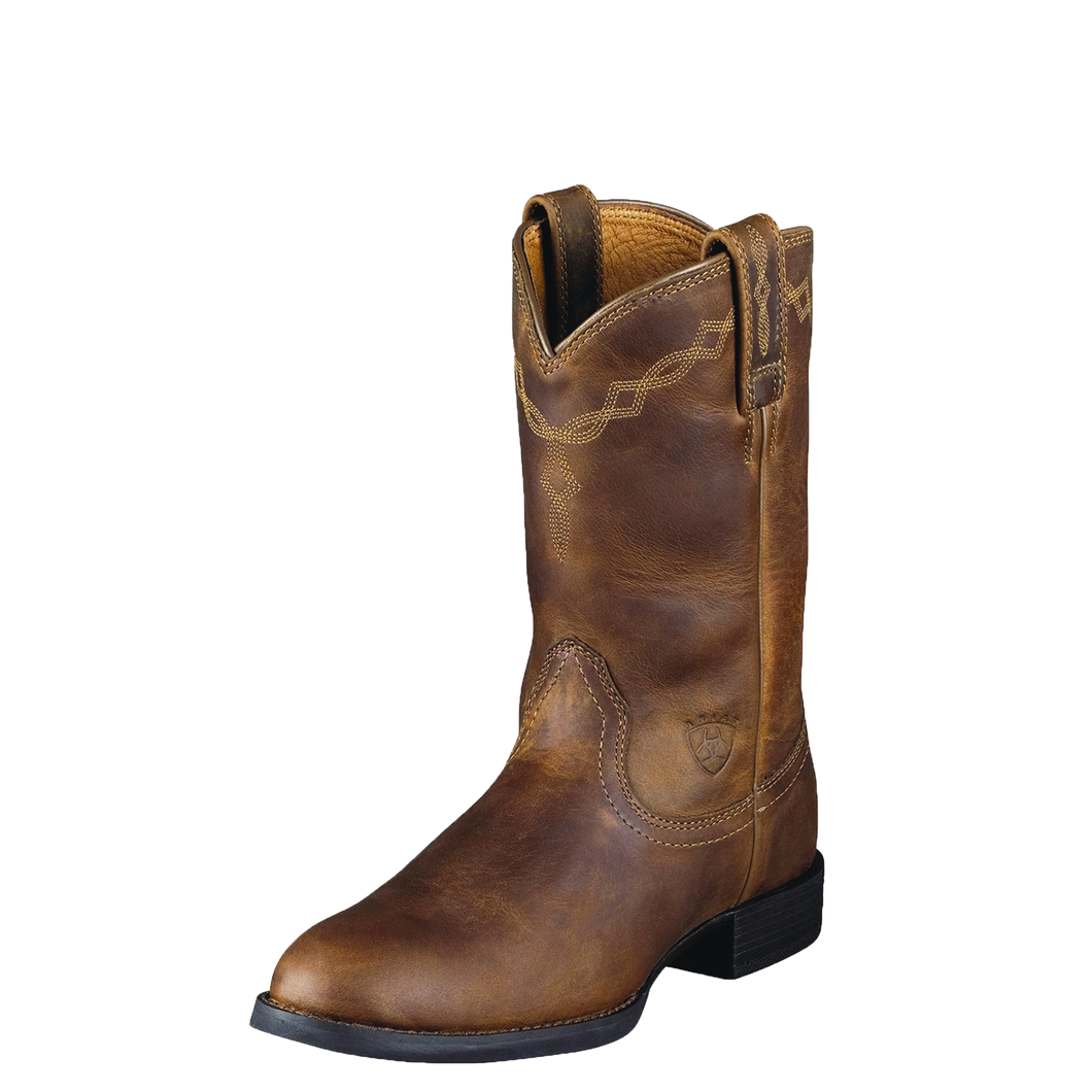 Ariat 10000797 Women's Heritage Roper Distressed Brown