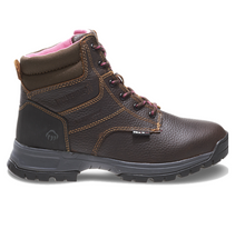 "Load image into Gallery viewer, WOLVERINE #W10180 WOMENS PIPER 6"" WATERPROOF COMPOSITE TOE WORK BOOT"