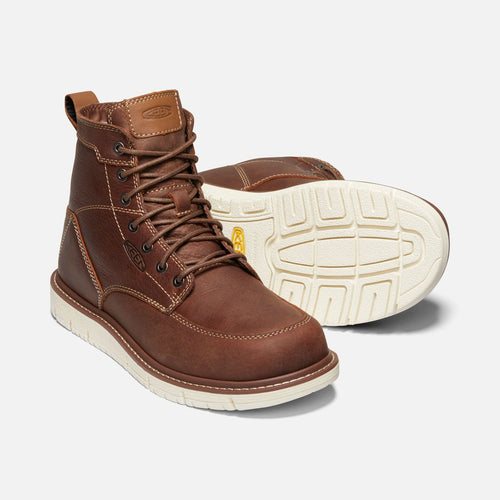 Keen #1020146 Men's San Jose 6 inch Work Soft Toe Gingerbread