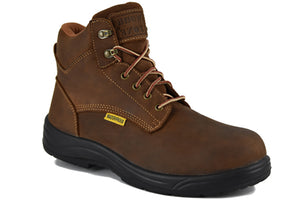 "Workzone N623BRN Mens Waterproof 6"" work boot"