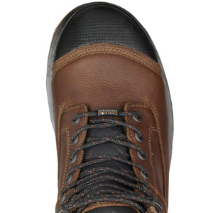 "TIMBERLAND #TB089628214 MENS BOONDOCK 8"" COMPOSITE TOE WATERPROOF BROWN"