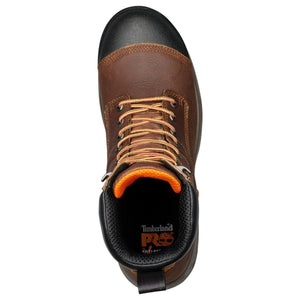 "TIMBERLAND #TB0A1RW4214 MENS HELIX HD COMP TOE 8"" BROWN"