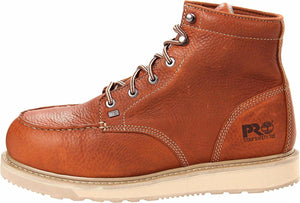 "Timberland #TB088559214 Men's Barstow Wedge 6"" Alloy Toe Brown"